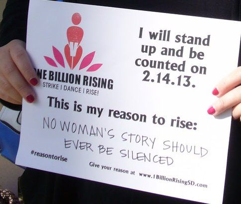 One Billion Rising - foto dalla pagina ufficiale V-Day