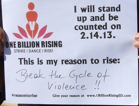One Billion Rising- foto dalla pagina ufficiale V-Day