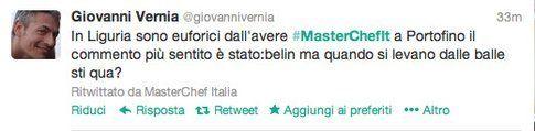 tweet di @giovannivernia