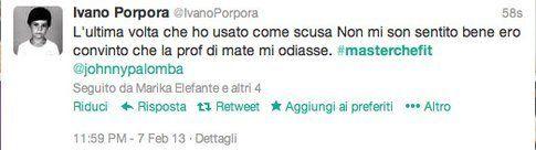 tweet di @ivanoporpora