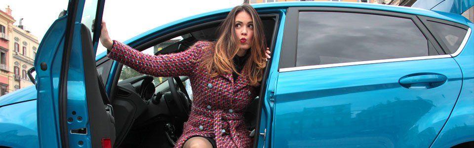 Una giornata di shopping vintage con la nuova Ford Fiesta