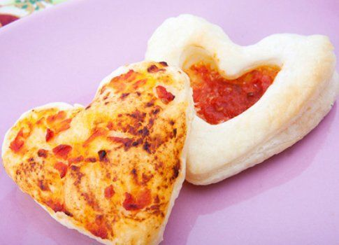 """""""Cuoricini di pasta sfoglia"""" del blog I pasticci della cuoca"""