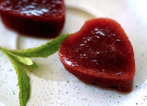 """gelatine di ciliegie del blog """"Penna e Forchetta"""""""