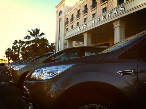 La nuova Ford Kuga a Las Arenas