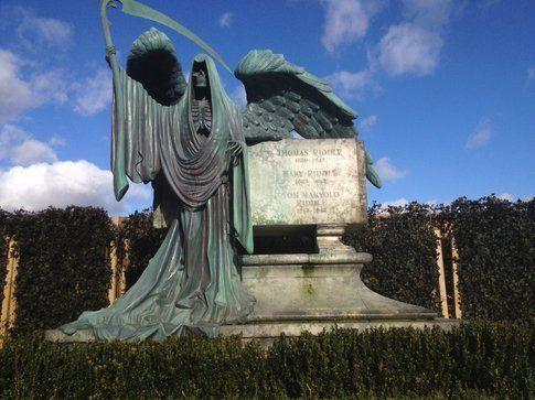 La tomba di Thomas Ridle - ph Simona Forti