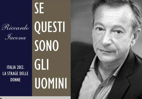 Riccardo Iacona e la copertina del suo libro - foto da rivistenergie9