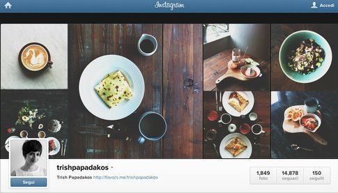 instagram di @trishpapadakos