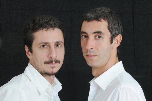 Luca e Paolo - foto da dietrolequinte