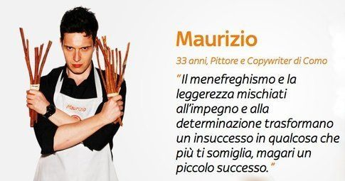 Maurizio (Credits foto dal sito Masterchef)