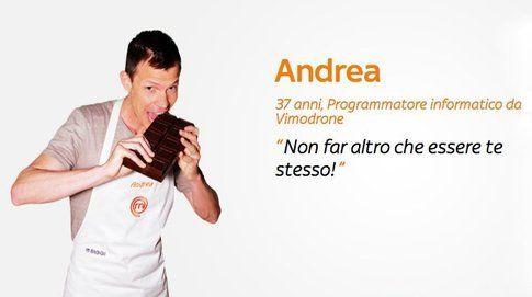 Andrea (Credits foto dal sito Masterchef)