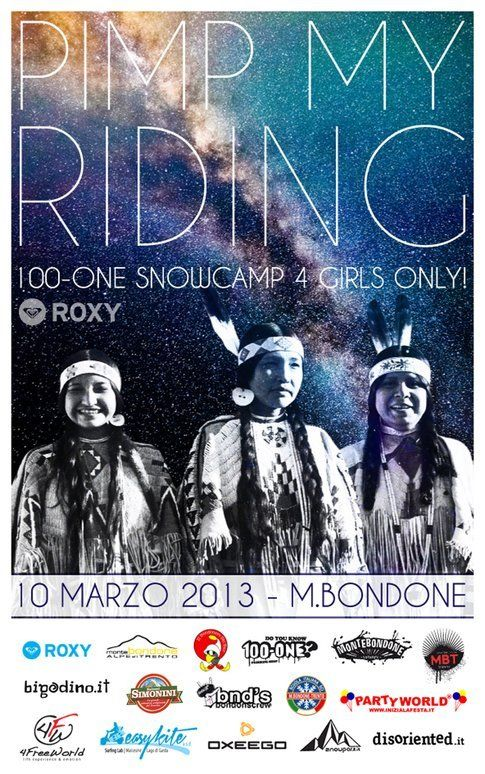 Pimp my Riding by 100-one torna il 10 marzo a Monte Bondone (TN)