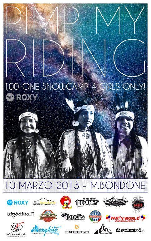 Pimp my Riding by 100-one torna il 10 marzo a Monte Bondone (TN)