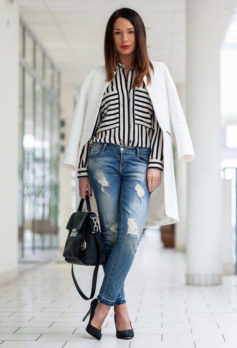 spesso Come indossare le righe: idee per i nostri outfits! | Bigodino FK79