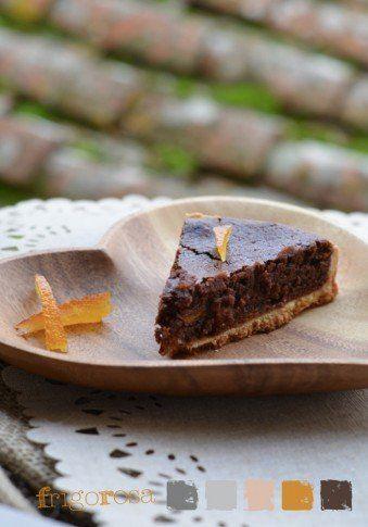 Torta-macaron-cioccolato-arancia