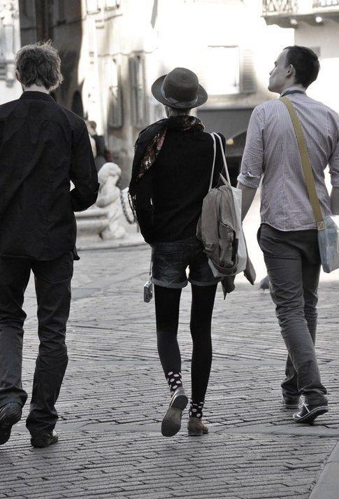 Fotografia di strada: ragazzi a Bergamo ©marziakeller