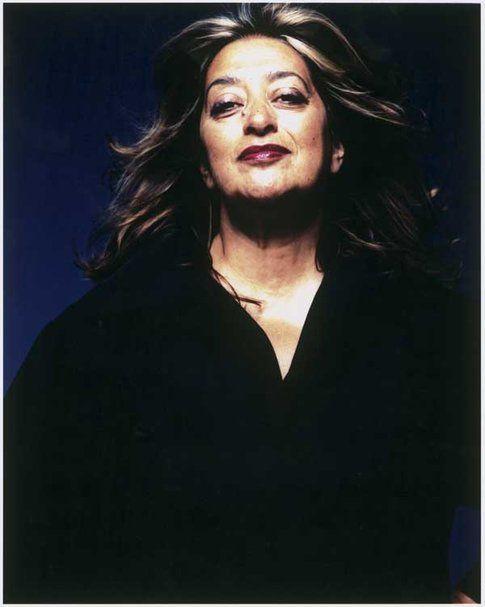 Zaha Hadid, fotografia di Steve Double