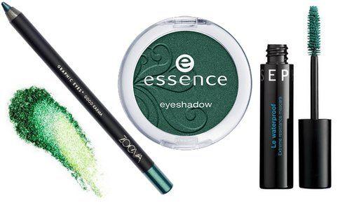 Prodotti make up: matita, ombretto e mascara
