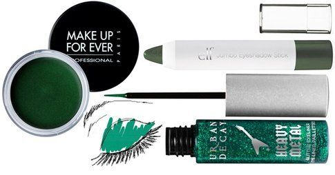 Prodotti make up: ombretto in crema, matitone occhi e eyeliner
