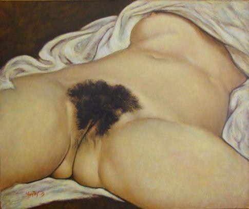 """""""L'origine del mondo"""", Gustave Courbet"""