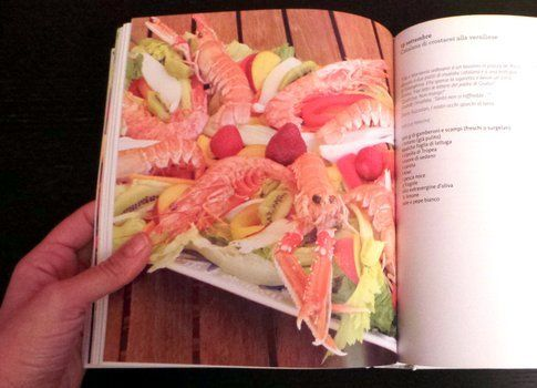 """Insalata catalana di crostacei alla versiliese dal libro """"365 insalate per tutto l'anno e tutti i gusti"""""""
