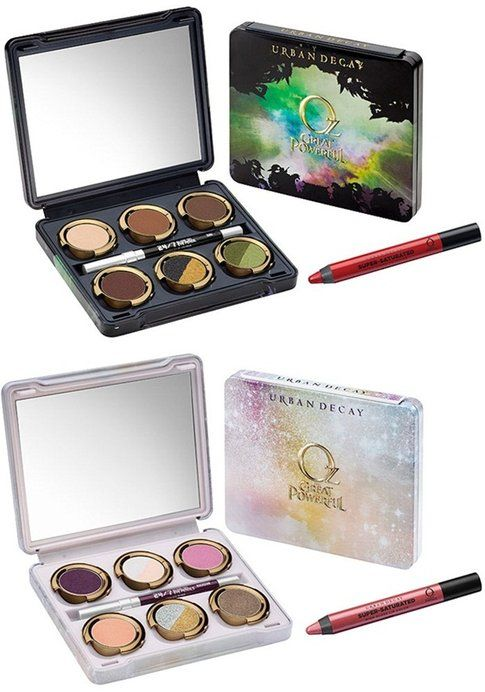The Glinda and Theodora Palettes Urban Decay