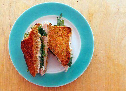 sandwich pronto per essere mangiato