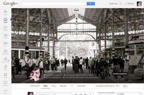 Google+ Profilo copertina