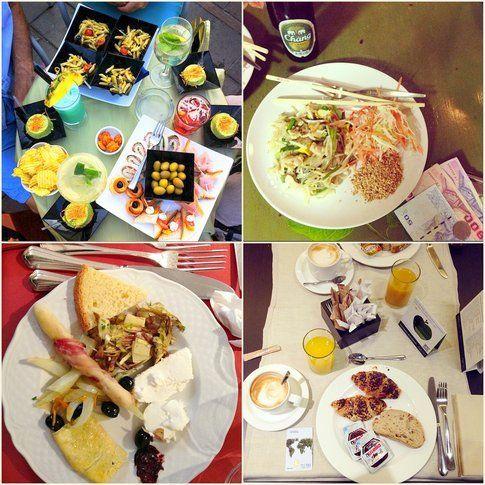 Mix di foto di Ilary's Grill dal suo Instagram