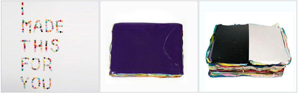 Arte a strati: Paint Stacks