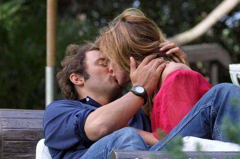 Serena Autieri e il marito - foto da oggi