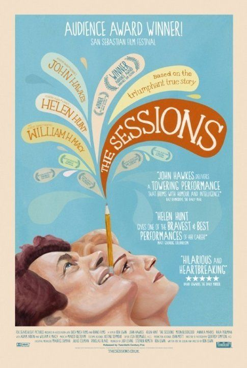 Locandina The Sessions - foto da movieplayer.it