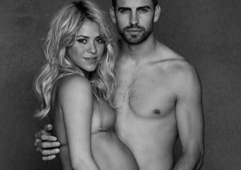 Shakira e Piquè - foto da nanopress