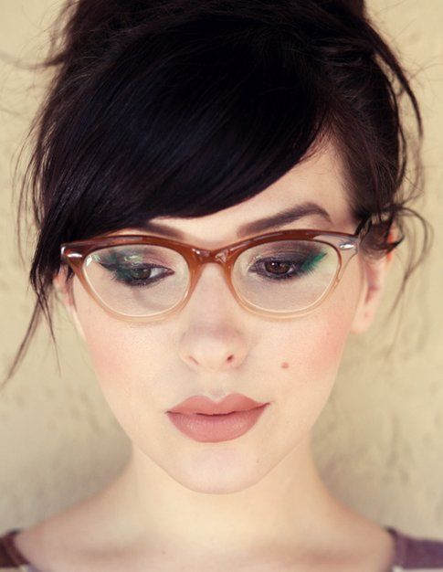 Make up per chi porta gli occhiali: risultato finale