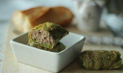 """Caponet, involtini di verza con ripieno ricetta di """"Cucina e Cantina"""""""