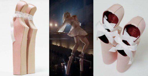 Lady Gaga lady pointe