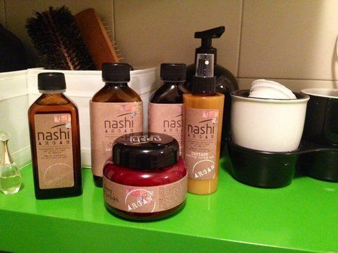 i prodotti Nashi Argan da casa