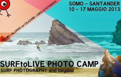 SurfToLive Photo Camp ti aspetta a Somo