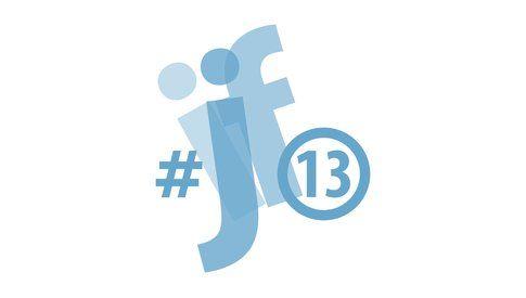 Logo del #ijf13 - dalla cartella stampa ufficiale del festival