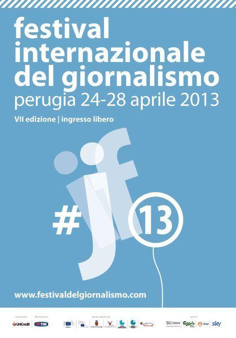 Manifesto #ijf13 - dalla cartella stampa ufficiale del festival
