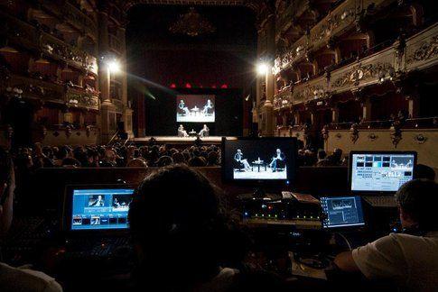 Foto delle passate edizioni - The Teatro Morlacchi, da flickr del festival