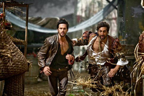Una scena da Da Vinci's Demons - via sfx.co.uk