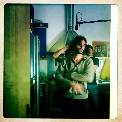 Sul set di Soma - via Facebook Soma la serie