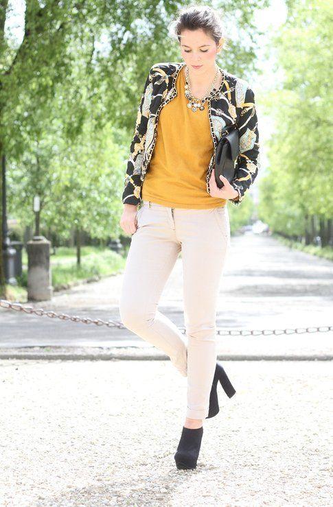 Il mio outfit in giallo e nero