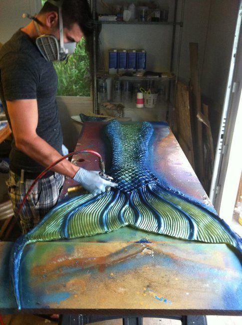 Eric Ducharme al lavoro - foto da pagina facebook ufficiale