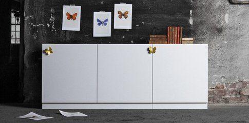 Piede Plinth, maniglie Butterfly, Superfront