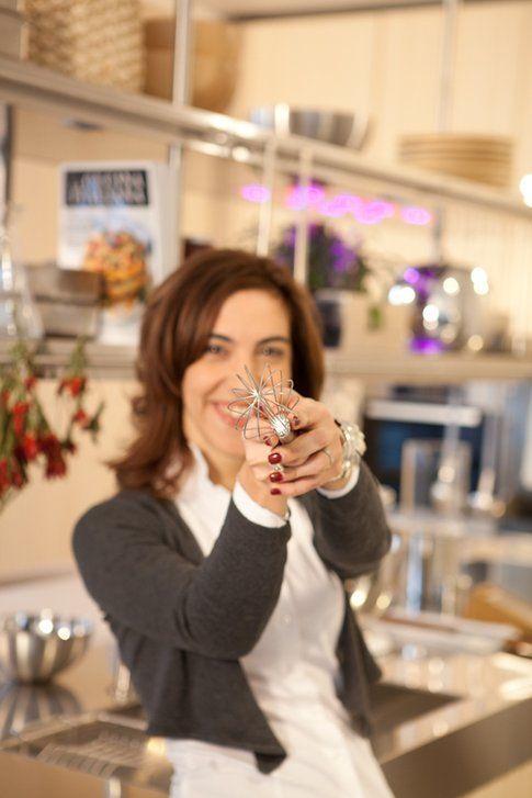 """Anna Prandoni nella cucina de """"La Cucina Italiana"""""""