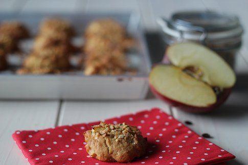 Biscotti alla mele morbidi dentro e croccanti fuori