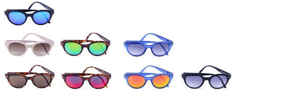 Tendenze primavera estate 2013: occhiali da sole a specchio