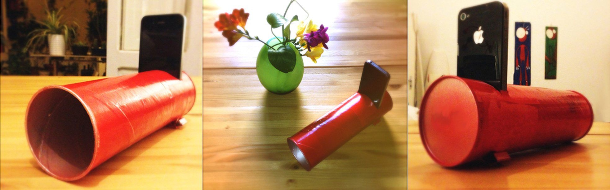 L'improbabile coppia: un tubo di patatine e un iphone