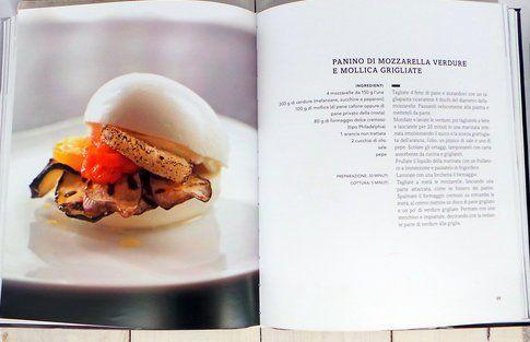 """Panino di mozzarella, una ricetta del libro """"Evviva la mozzarella"""""""